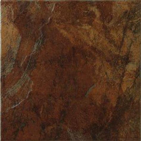 marazzi imperial slate 12 in x 12 in rust ceramic floor
