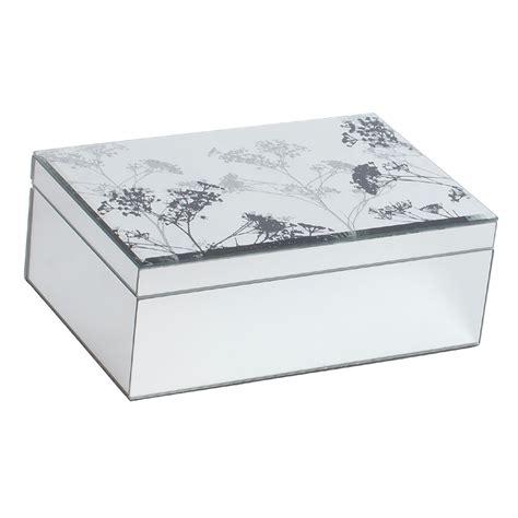 large s lace mirrored jewelry box