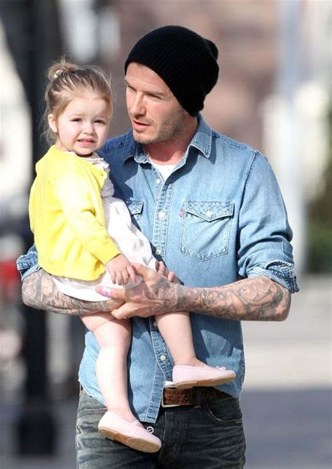 Ralph Exploits Beckham Children by David Beckham Takes Out For A Morning Stroll