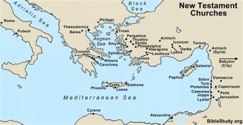 middle east map new testament pics for gt ephesians map