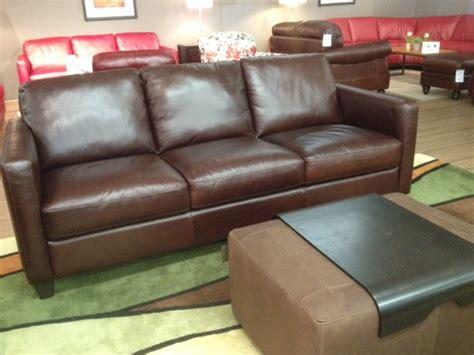 B591 Sofa By Natuzzi Ediitons In Brown Leather Labor Day Natuzzi Brown Leather Sofa