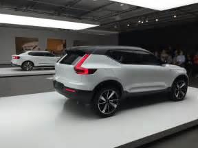 Volvo Xc40 Concept Volvo Toont Concept Car Xc40 Autovisie Nl