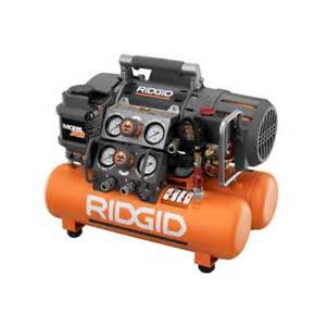 home depot air compressors ridgid reconditioned tri stack air compressor zrof50150ts