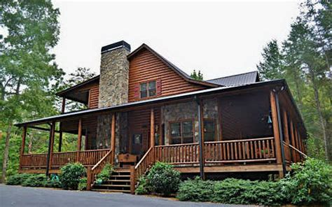 blue ridge mountain log cabins homes for