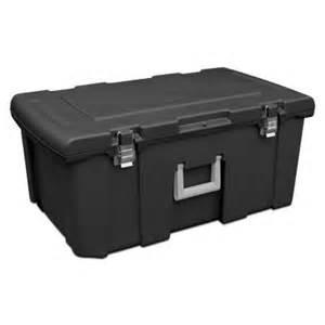 sterilite footlocker storage box 18429001 the home depot