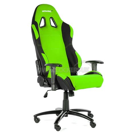 Office Chairs Deals by Ak Racing Prime Gaming Chair Green Amp Black Ocuk