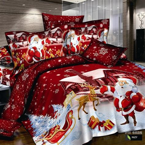 nightmare before christmas king size bedding christmas3d bedding sets cotton edredon nightmare before