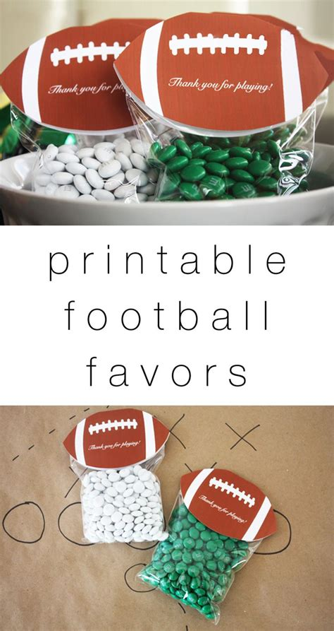 Football Baby Shower Favors by 25 Best Ideas About Football Favors On