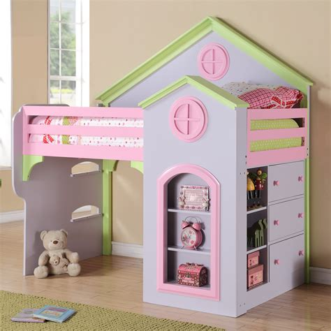 loft bed for girls princess loft bed by michael ashton design