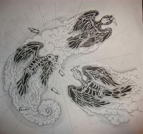 lamb of god tattoo designs 3 bird design by thedutton on deviantart
