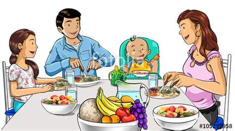 imagenes de la familia saludable quot familia comiendo productos saludables quot fotos de archivo e