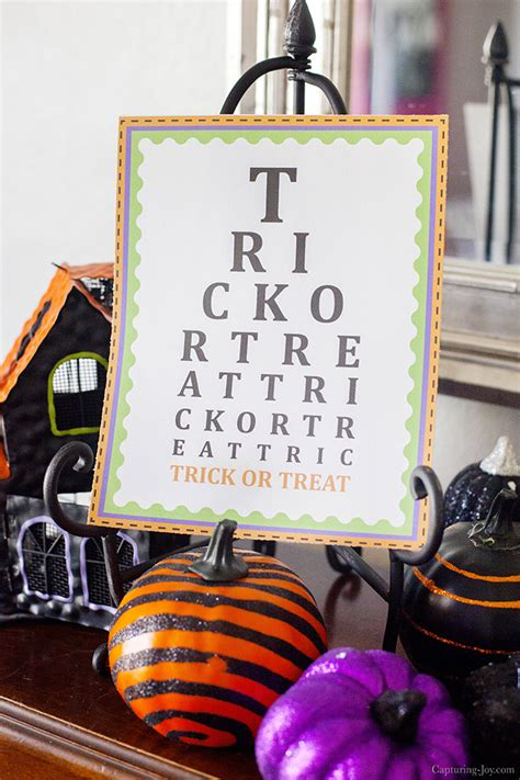 halloween eye chart printable trick or treat printable for halloween capturing joy