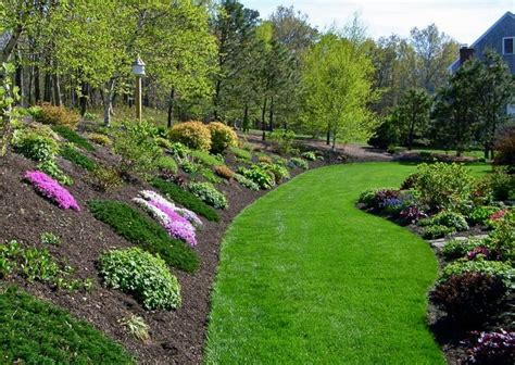 how to landscape a hill triyae com backyard landscaping ideas with hill