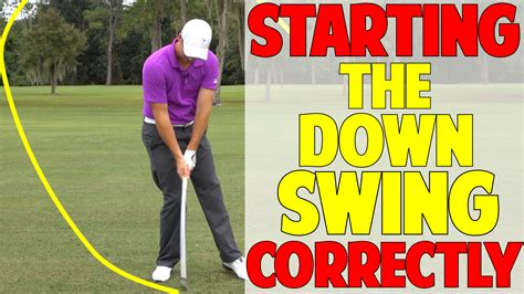 start golf swing with hips how to start the downswing in golf