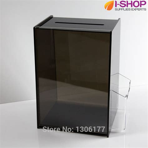 Acrylic A4 2 Sisi By Ali Supplier aliexpress buy acrylic suggestion box dl a4 display