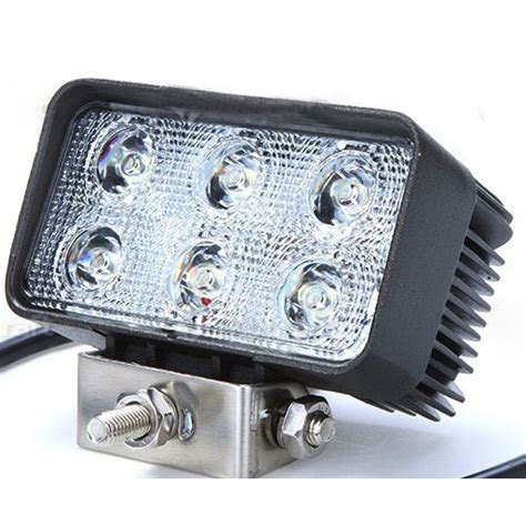 Lu Led Motor Trail lu led headlight mobil offroad 18w 1260 lumens c18 es black jakartanotebook