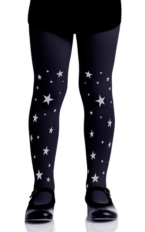 patterned tights for toddlers stars patterned girls tights black grey kids tights