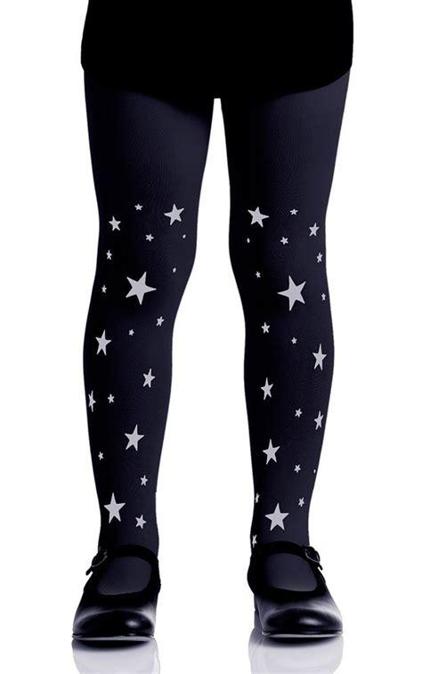 patterned tights toddler stars patterned girls tights black grey kids tights