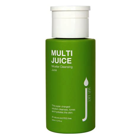 Juice Detox Cleanse Australia by Skin Juice Multi Juice Micellar Cleansing Juice