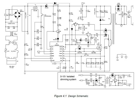 ac 230v led driver dimmer circuit diagram 0 10v or
