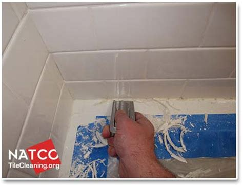 how to remove silicone from bathroom tiles remove sealant from tiles tile design ideas