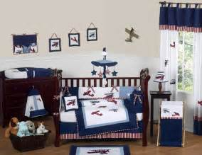 Planes Crib Bedding Unique Discount Blue White Vintage Airplane Planes Baby Boy Crib Bedding Set Ebay