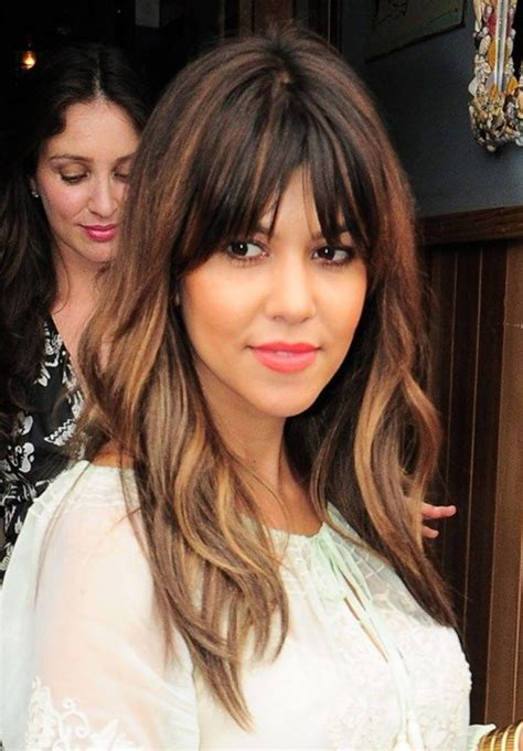 Kourtney Kardashian Hair Color 2014 | kourtney kardashian hairstyles long straight hair with