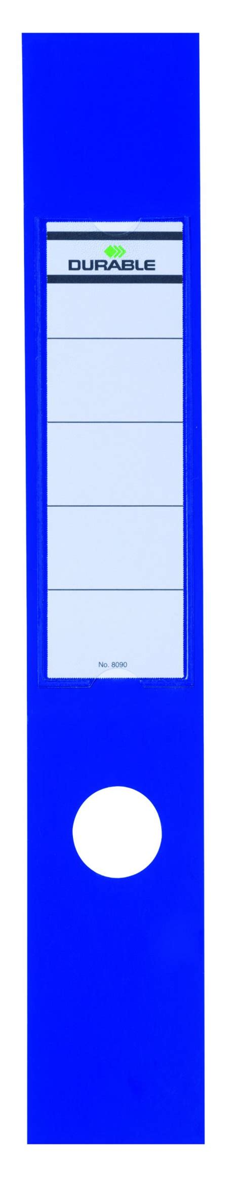 Ordofix Spine Label Template durable blue ordofix file spine label pack of 10 8090 06