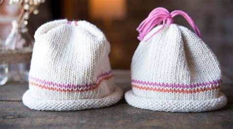 how to knit a hat for beginners beginner knits how to knit a baby hat by maggie pace