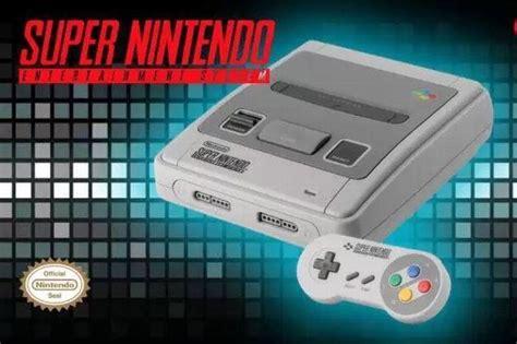 nintendo anuncia la nintendo entertainment system nes classic edition nintendo anuncia la snes classic edition 161 con dos mandos y 21 juegos fotos fusi 243 n 90 1 fm