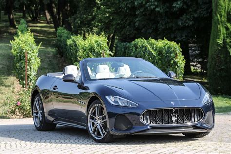 2018 Maserati Granturismo Coupe Convertible First Drive