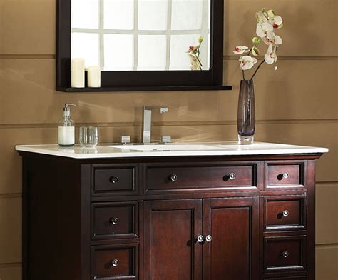 Xylem Bathroom Vanity 48 Xylem V Glenayre 48dk Bathroom Vanity Bathroom Vanities Bath Kitchen And Beyond