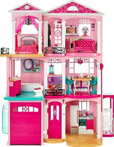 big barbie doll houses new barbie doll 3 story big dream house pink girls play fun living bed room sofa ebay