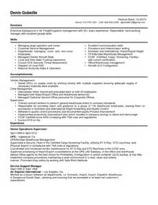 Insurance Specialist Sle Resume by Supply Chain Coordinator Resume Sales Coordinator Lewesmr