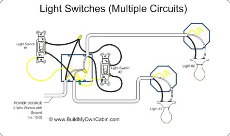 multi light switch wiring diagram 33 wiring diagram