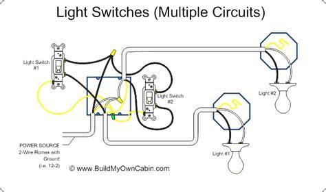 multi light switch 123freewiringdiagrams