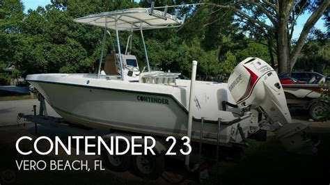 contender boats dealer portal for sale used 1998 contender 23 in vero beach florida