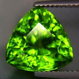 Lime Green Loopy Gravity Element 1 orthorhombic peridot gem resource international
