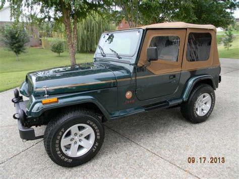1993 Jeep Wrangler Sport Buy Used 1993 Jeep Wrangler Sport Yj 4 0l 5 Speed