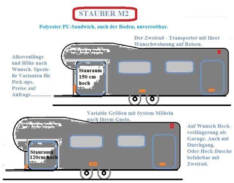 Wohnwagen Und Motorrad Transport by Stauber Motorhomes Wohnwagen Slide Out