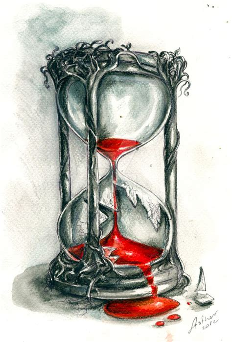 hourglass by artofasthar on deviantart