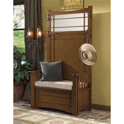 oak hall bench with storage home furnishings shop furniture for your interiors patio