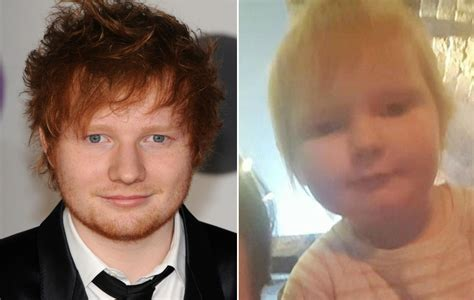 ed sheeran baby ed sheeran responds to his baby lookalike nme