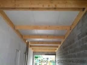 garage la toiture en bac acier isol 233 magicmanu