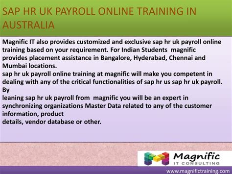 Sap Courses For Mba Hr In Hyderabad by Ppt Sap Hr Uk Payroll South Africa