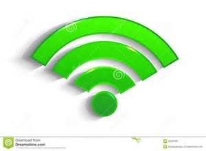 Does Home Design Story Need Wifi by Modern Green Paper Wifi Symbol With Shadow Royalty Free
