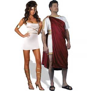 Roman god and oh my goddess couples costume