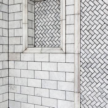 4x12 subway fliese herringbone subway tile shower design ideas