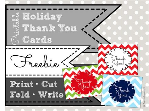 Thank You Note To Preschool Preschool Ponderings Printable Thank You Cards