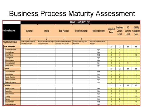 business process inventory template conducting erp assessment to maximize erp roi erp the